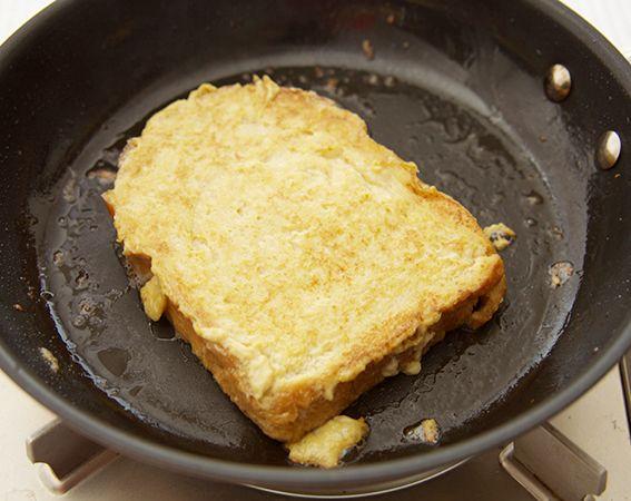 フレンチトーストの焼き方