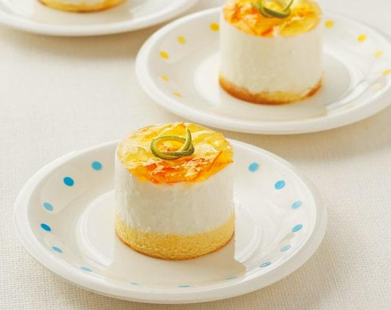 水切りヨーグルトレアチーズケーキ